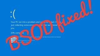 Скачать How To Fix BUGCODE NDIS DRIVER Error When Installing Windows