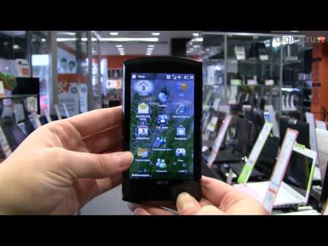 Видеообзор коммуникатора Acer neoTouch