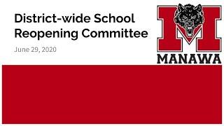 District-wide School Reopening Committee 2020/06/29