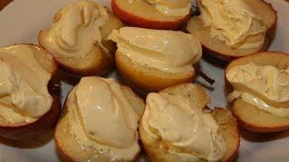 Юлия Высоцкая — Запеченные яблоки с ванильным мороженым
