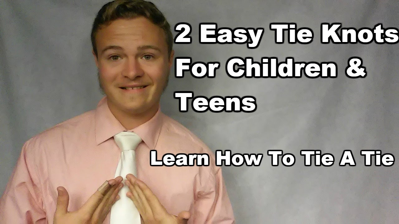 2 tie knots for children teens very easy steps how tos 2 tie knots for children teens very easy steps how tos included ccuart Image collections