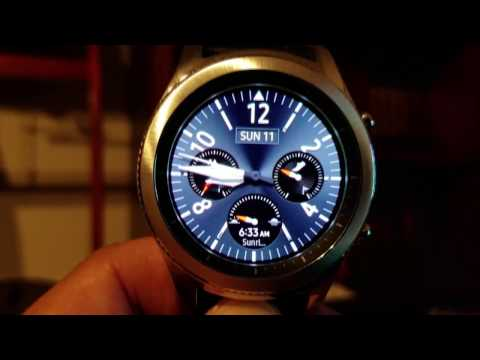 Making your own custom watch faces and dials for the Samsung Gear S3
