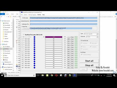 How to use Smartphone Multiport Download tool - YouTube
