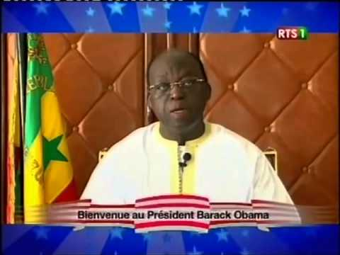 Welcome President Obama to Senegal by RTS1