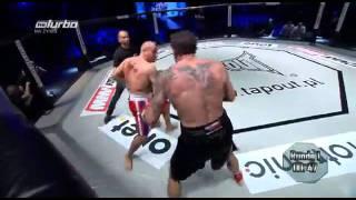Walka Przemysław Saleta vs Marcin Najman 05.11.2011 MMA Attack K1