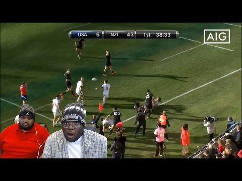 J&B Army Reacts: USA v All Blacks Highlights