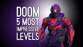 Doom Gameplay: 5 Most Impressive Levels Built In Doom