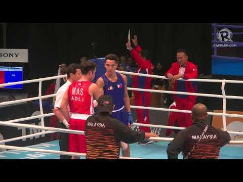 SEA Games 2017: Boxer John Marvin wins light heavyweight gold