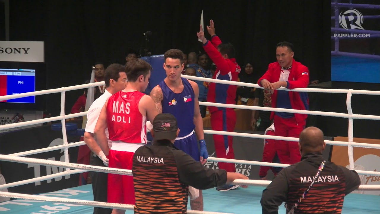 SEA Games 2017  Boxer John Marvin wins light heavyweight gold   YouTube SEA Games 2017  Boxer John Marvin wins light heavyweight gold