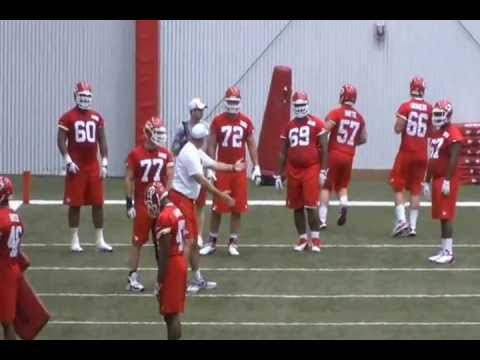 Eric Fisher at Rookie Minicamp...