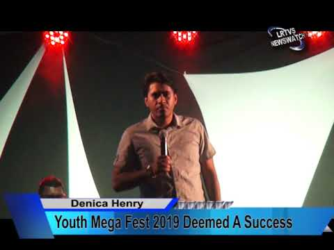 Youth Mega Fest 2019 Deemed A Success  News for 20th August, 2019