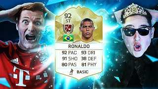 FIFA 17 - NEW LEGEND R9 RONALDO - FIFA 17 ULTIMATE TEAM