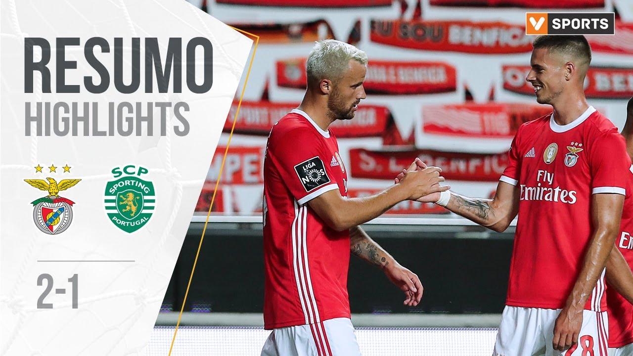 Бенфика  2-1  Спортинг Лиссабон видео