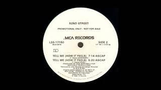 52nd Street - Tell Me (How It Feels) [Instrumental Dub] (1985)