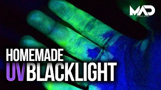 How to make a UV black light (EASY)