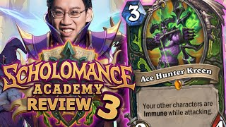 RIDICULOUSLY STRONG DH/H CARD!?! - Scholomance Academy Review #3 | Hearthstone