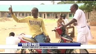 KAD LG POLLS: RESIDENTS COMPLAIN OF LATE ARRIVAL OF MATERIALS