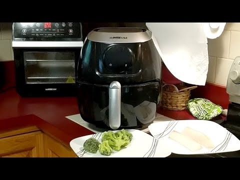 LiVE! GoWISE USA Air Fryer And AF Oven! Quick Cod Fish - Weekly Keto Take