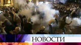 В Грузии с угрожающей скоростью нарастают массовые протесты.