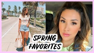 CURRENT SPRING FAVORITES + LOUIS VUITTON GIVEAWAY!