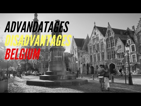 Advantages & disadvantages of living in Belgium part 1