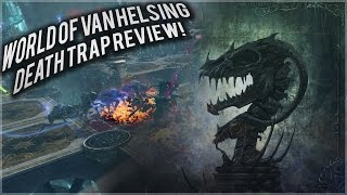 World of Van Helsing: Death Trap: Review and game play