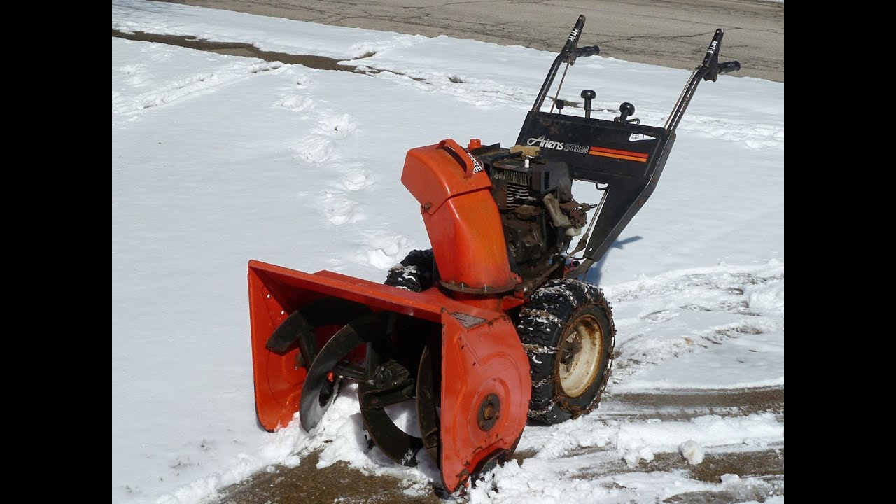 ariens st824 youtube rh youtube com ariens 824 owners manual ariens st824 owners manual