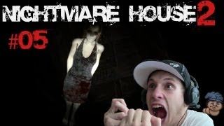 Let's Play Nightmare House 2 - #05 [Deutsch] [HD] [Blind] - DIE FLIEGT JA!