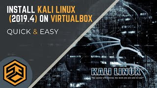 Install Kali 2019.4 on VirtualBox Step-by-Step (EASY!)