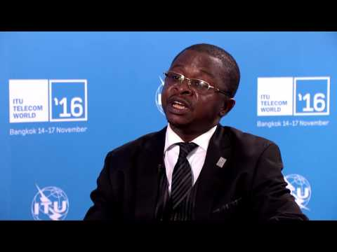 ITU TELECOM WORLD 2016: Armand Ndjodom, Ministry of Posts & Telecommunications, Cameroon