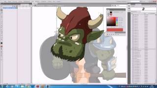 Игровая анимация во флеше Flash видео урок! Часть 2