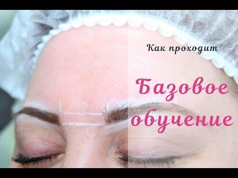 Базовое обучение перманентному макияжу (частичное)