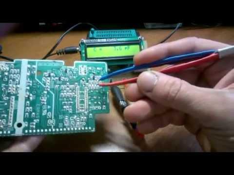 микроконтроллер пробник универсальный схема atmega8