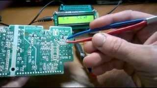 видео Цифровой LC-метр на контроллере PIC16F84