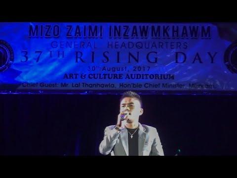 Vanlalmuanpuia Khiangte (MPA) - A sawm reng che  @MZI Rising Day 2017