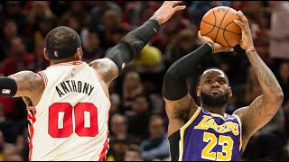 La Lakers Vs Portland Trail Blazers - Full Game Highlights | December 6, 2019 | Nba 2019-20