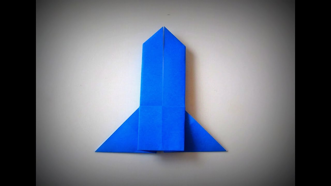 Origami Rocket Folding Instructions Instruction Kid Stuff Advanced Fox Diagram Of The Squirrel Step By How To Make A Royalty Free Stock Photo
