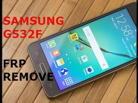 How To Remove Frp Samsung Galaxy Grand Prime Plus G532f ,g532g