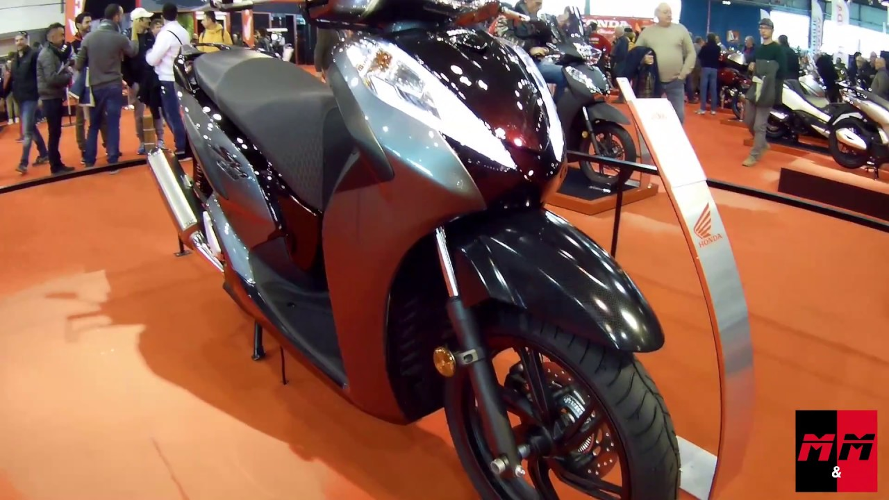 Honda Sh300 Motor Bike Expo 2017 Youtube
