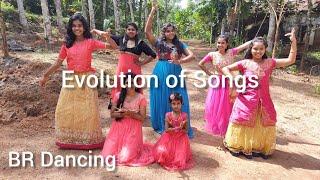 Evolution of Songs | Yaaro + Maangalyam +Nainowaale + Bole X500 + Drunk| BR Dancing | Dance Cover