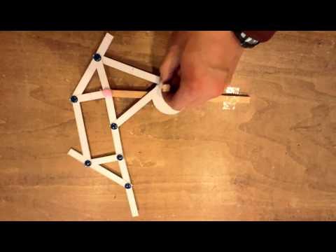 テオ ヤンセン機構 紙の模型 Theo Jansen Paper Craft Doovi