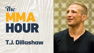 T.J. Dillashaw Says Team Alpha Male's In-Cage Trash Talk Helped Him Recover After UFC 217 Knockdown
