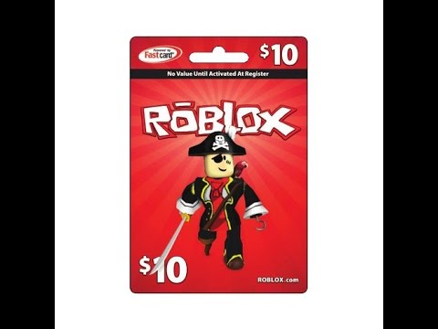 Free 10 Roblox Card Always An Available Code Youtube
