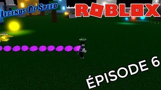 Legends Of Speed: I'm fast as lightning! Roblox UK Episode 6