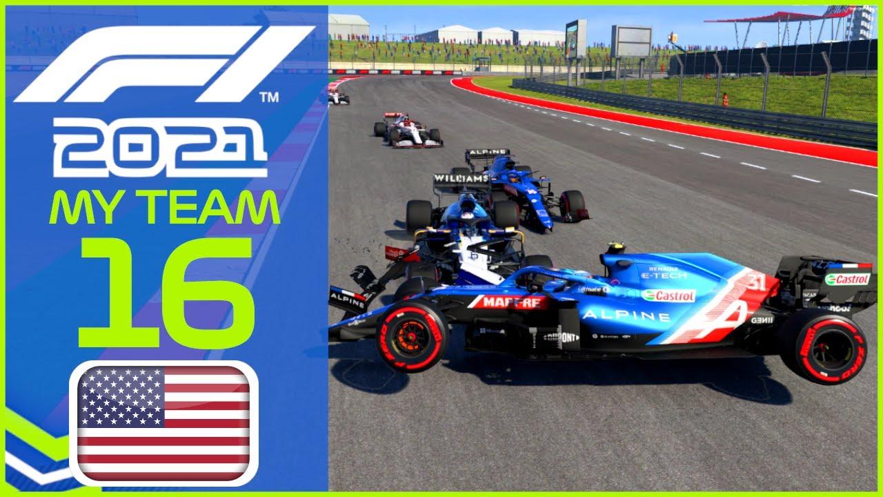 F1 2021 MyTeam KARRIERE #16: Legendäres Rennen! Nur 9(!) Autos im Ziel!