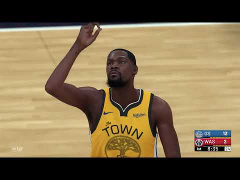 low priced 9030a c42e4 NBA 2K19 - Golden State Warriors vs Washington Wizards (City ...