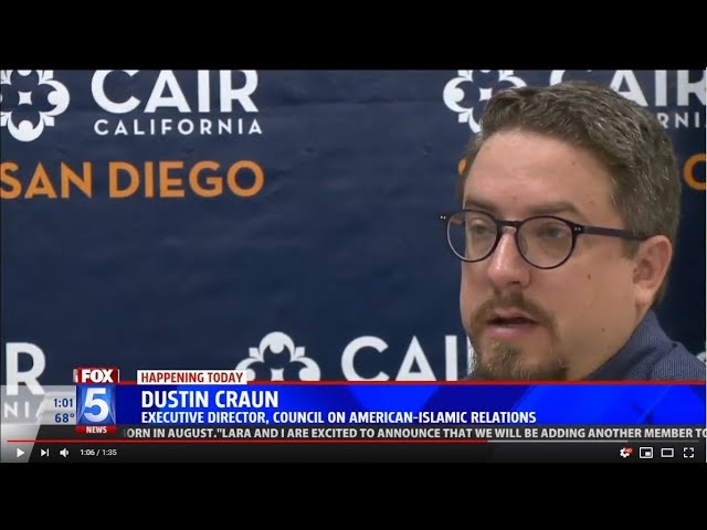 CAIR-San Diego: Update on California Mosque Arson - Public's Help Sought (VIDEO)