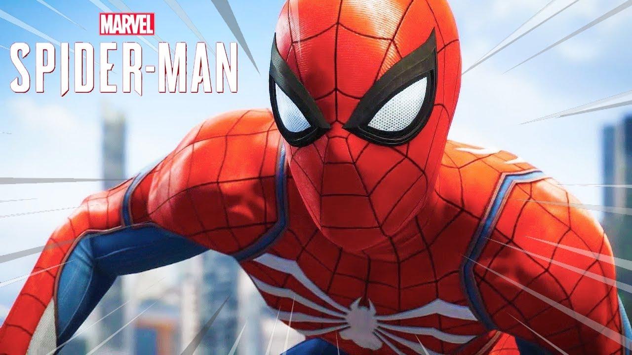 Spiderman (ps4)  Mecânica De Web Swing, Roupas