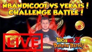🔴 NBANDICOOT VS YEKAIS, CHALLENGE BATTLE ! DBZ DOKKAN BATTLE thumbnail