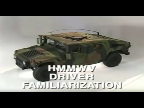 The (Seabee) HMMWV Training Video